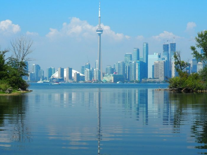 Things to do in Toronto Toronto Islands skyline