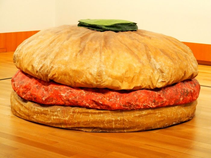 Art Gallery of Ontario - giant hamburger
