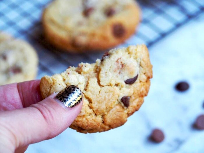 melt and mix choc chip cookies 2