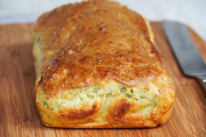 Cheddar Pesto Loaf 2