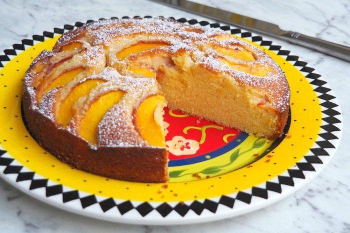 Lemony Peach cake 3