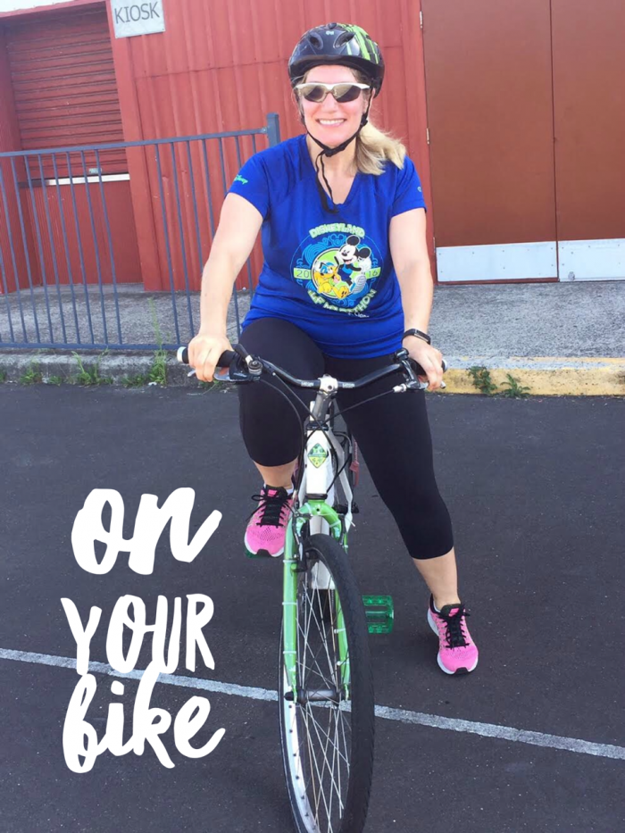 On your bike - learning to ride a bike