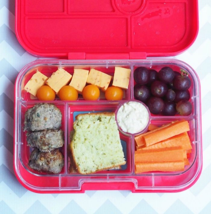 Yumbox adult lunch
