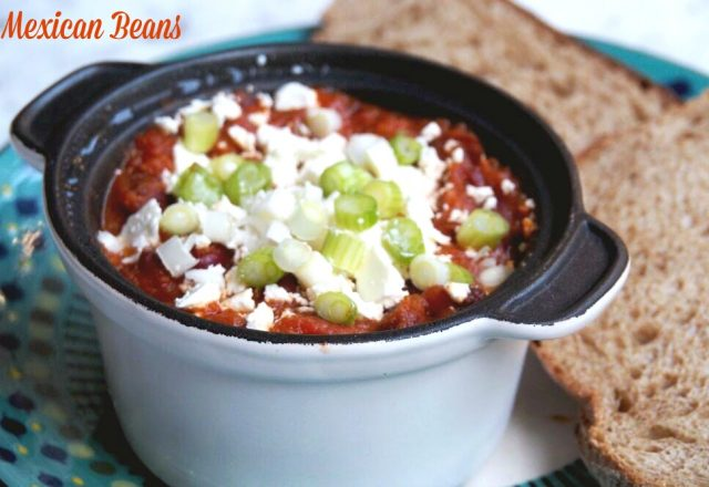 Meatless Monday – Mexican Beans