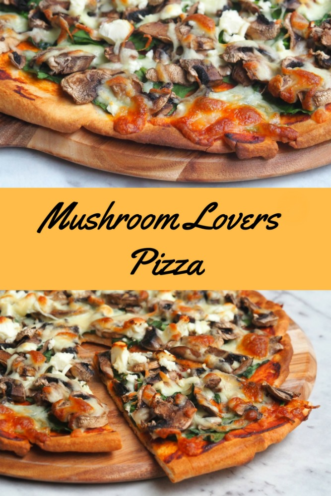 Mushroom Lovers Pizza - The Annoyed Thyroid
