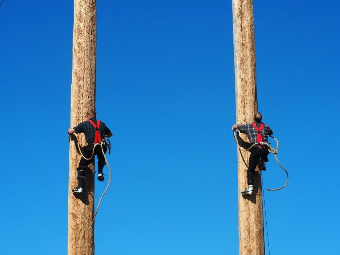 Lumberjacks - Grouse Mountain