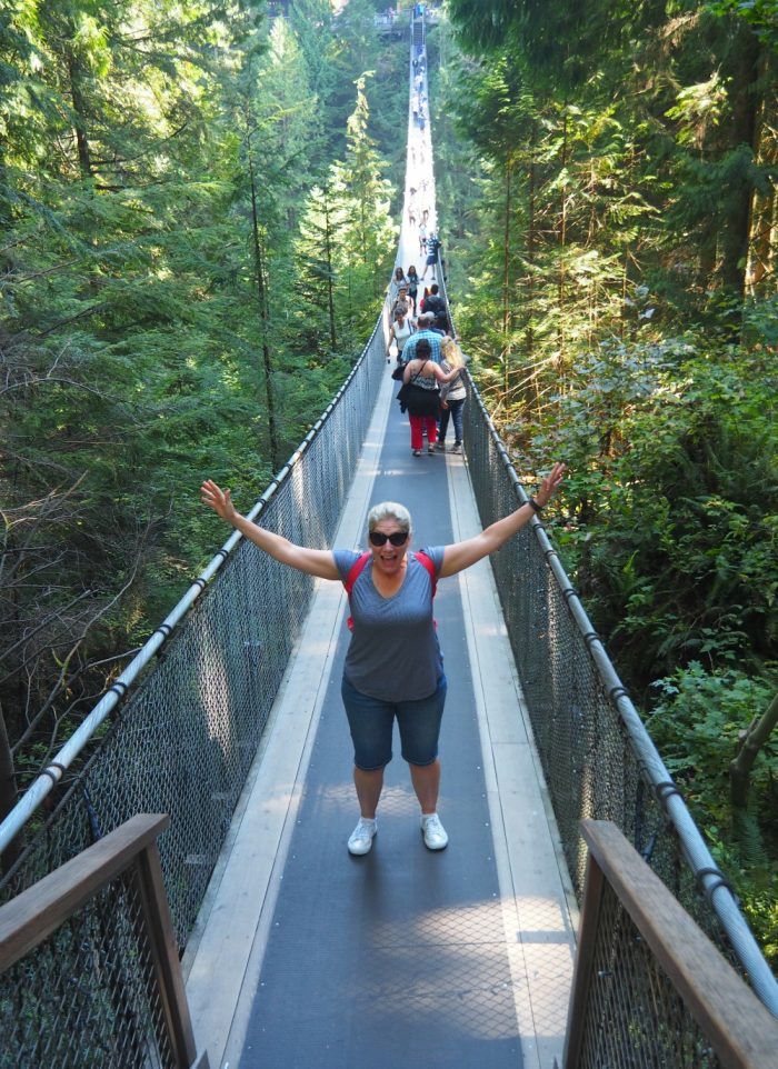 Capillano Suspension Bridge