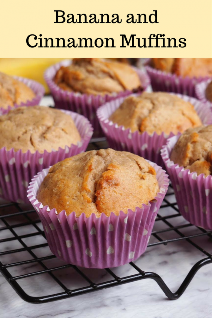 Banana and Cinnamon Muffins - The Annoyed Thyroid