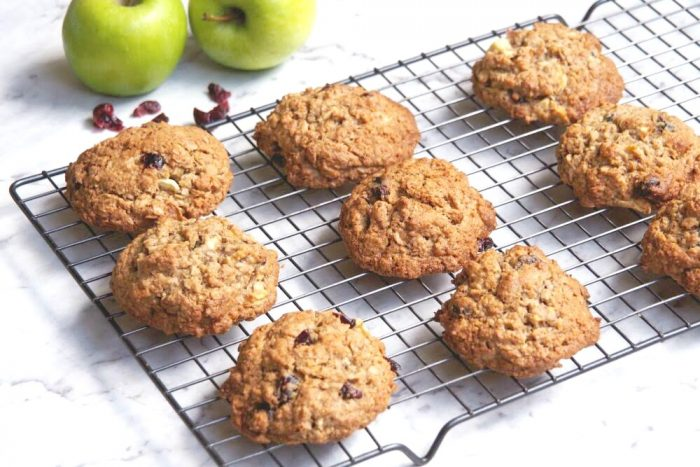 Cranberry and Apple Breakfast Cookies 3