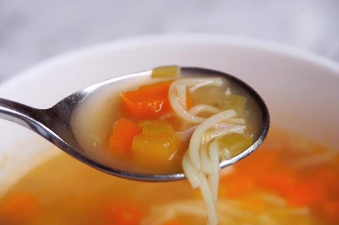Auntie Sandra's Champion Chicken Soup