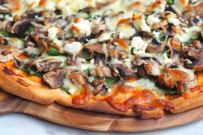 Mushroom Lovers' Pizza