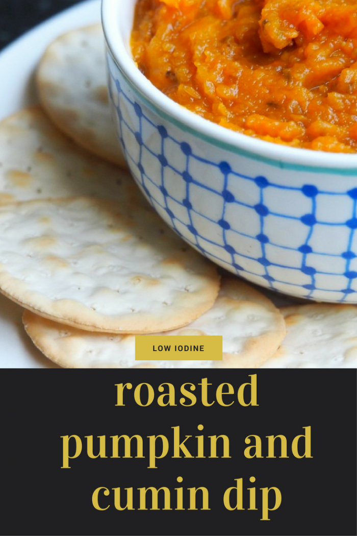 roasted pumpkin and cumi n dip - The Annoyed Thyroid