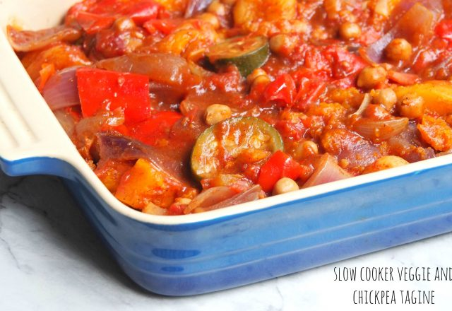 Meatless Monday – Slow Cooker Veggie and Chickpea Tagine