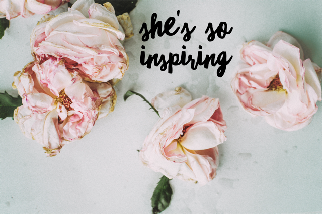 She's So Inspiring – Lisa Greissl