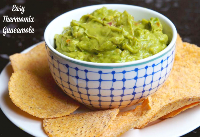 Easy Thermomix Guacamole