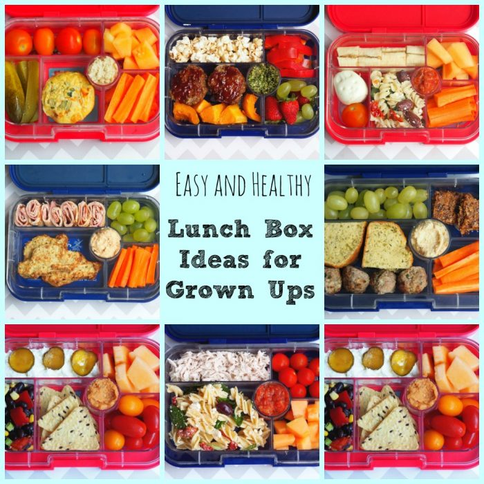 Easy and healthy lunch box ideas for grown ups