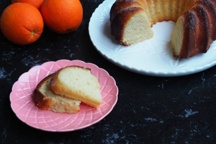 Thermomix Orange Yoghurt Cake