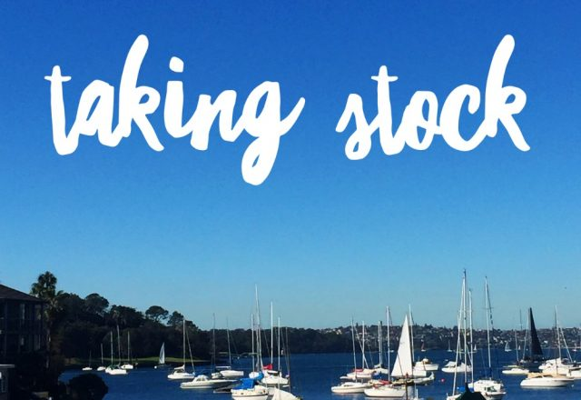 Taking Stock – July