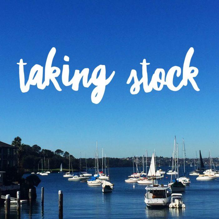 Taking stock July 17