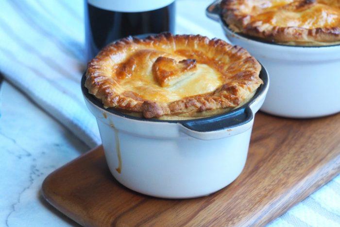 Beef and red wine pies 2
