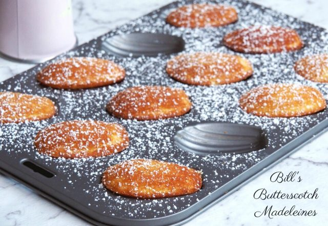 Bill's Butterscotch Madeleines