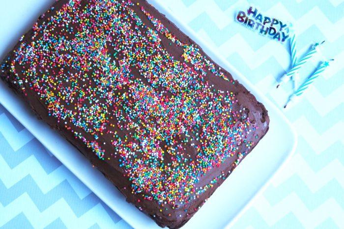 Chocolate Birthday Cake 4