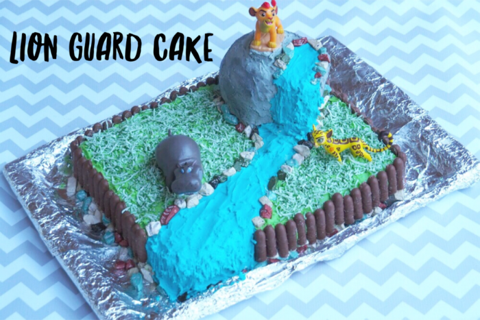 How to make a lion guard cake