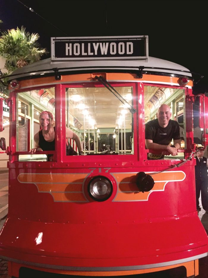 red trolley 10 on 10 September 17
