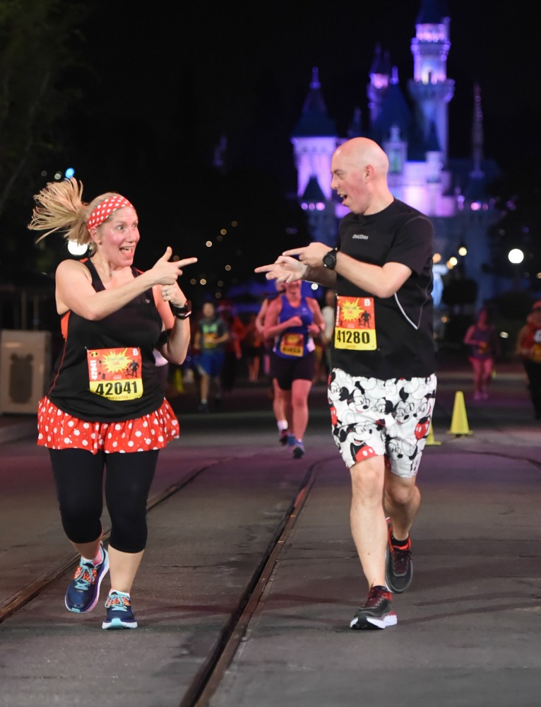 Taking Stock Disneyland 5k