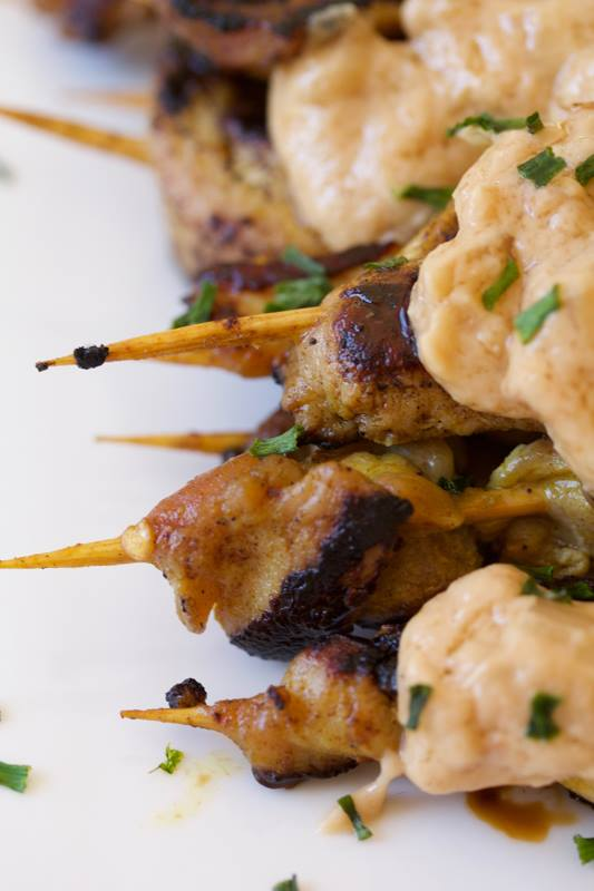 Cooker and a looker - Chicken Satays
