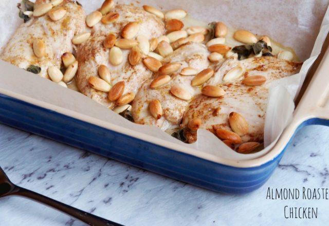 Almond Roasted Chicken