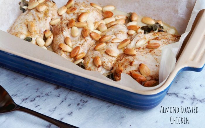Almond Roasted Chicken