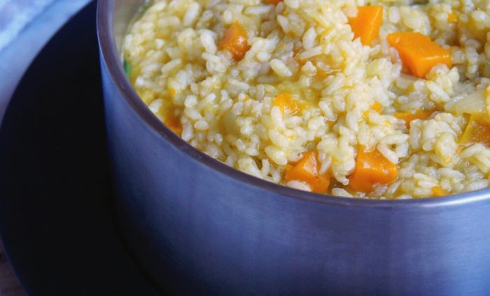 Thermomix Pumpkin and Spinach Risotto 2