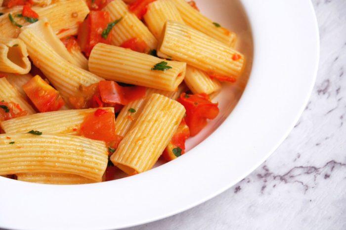 Fresh Tomato and Chilli Pasta 2