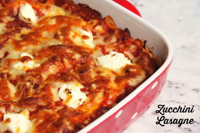 Meatless Monday - Zucchini Lasagne
