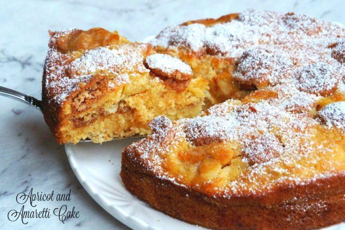 Apricot and Amaretti Cake 1