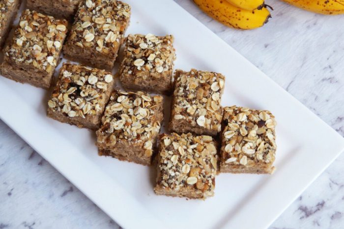 Banana Slice With Muesli Topping 3
