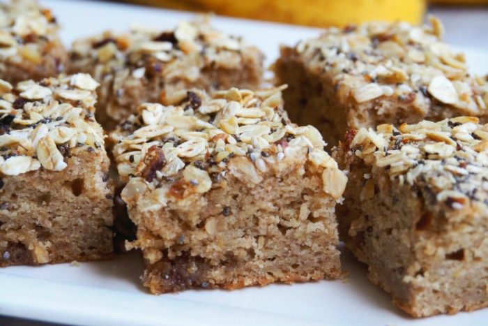 Banana Slice With Muesli Topping 2