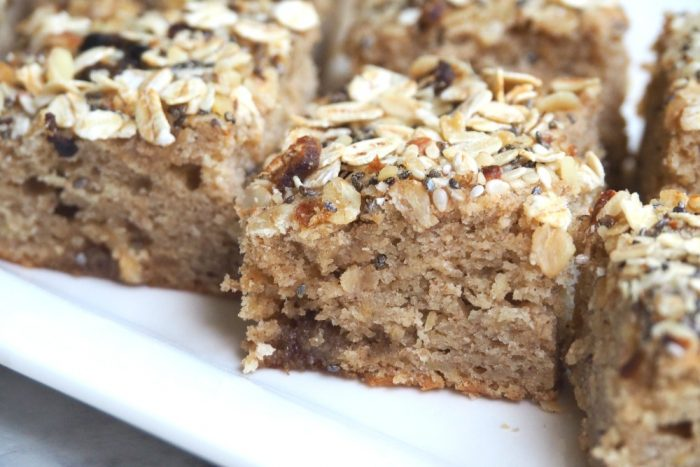 Banana Slice With Muesli Topping 4