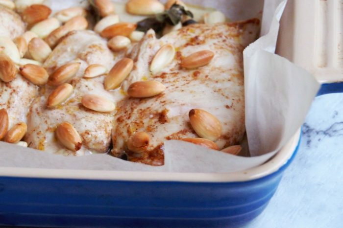 Almond Roasted Chicken 1