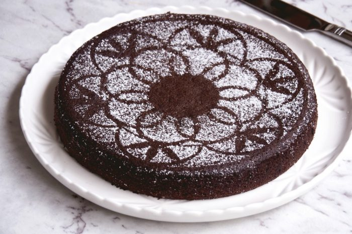 Nigellas Chocolate Olive Oil Cake 2