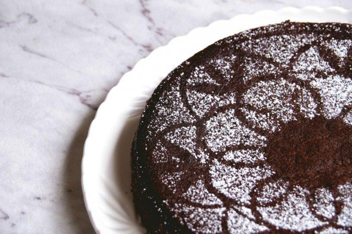Nigellas Chocolate Olive Oil Cake 6