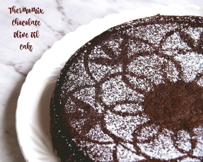Thermomix Chocolate Olive Oil Cake