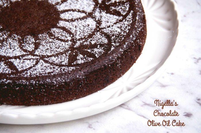 Nigellas Chocolate Olive Oil Cake