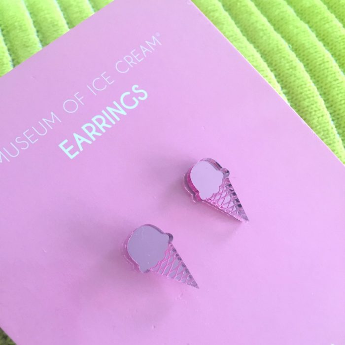 Museum of Ice Cream 10 on 10 earrings