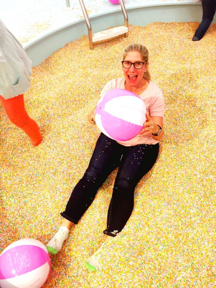 Museum of Ice Cream - Sprinkle Pool