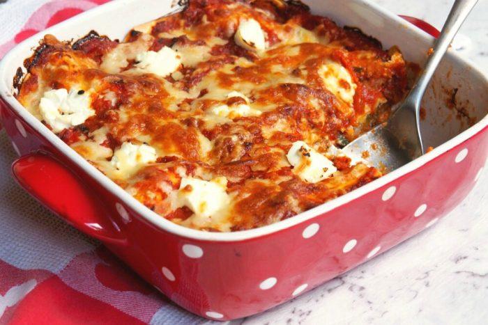 Meatless Monday - Zucchini Lasagne 2