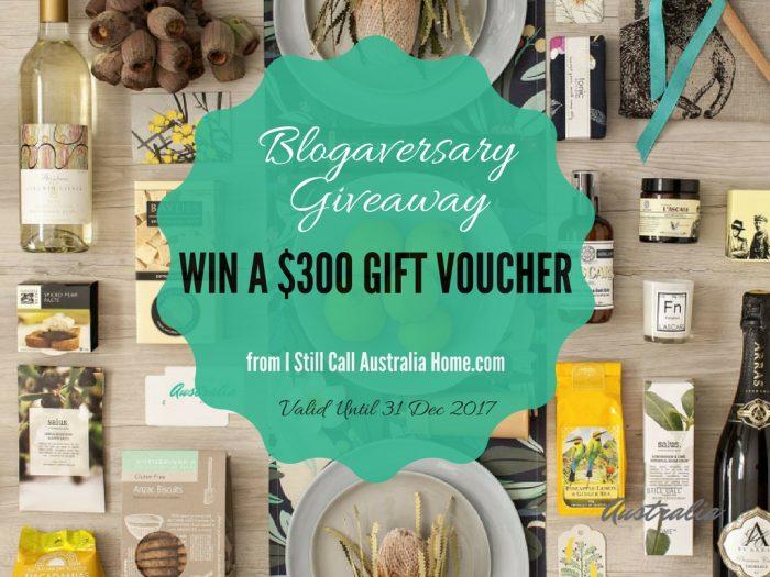 Blogaversary Giveaway