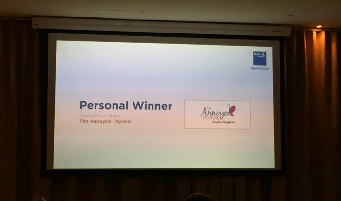 Bupa Blog Awards 1