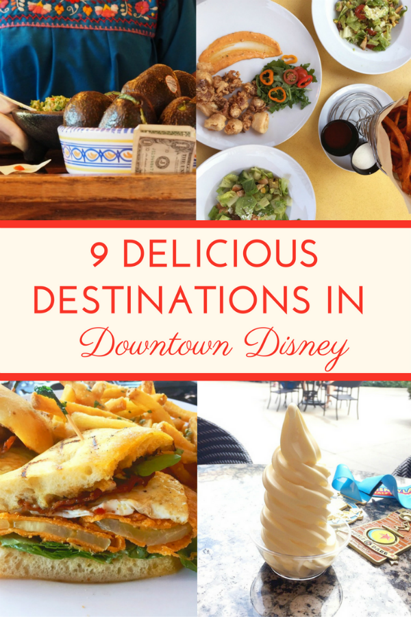 9 Delicious Destinations in Downtown Disney 3